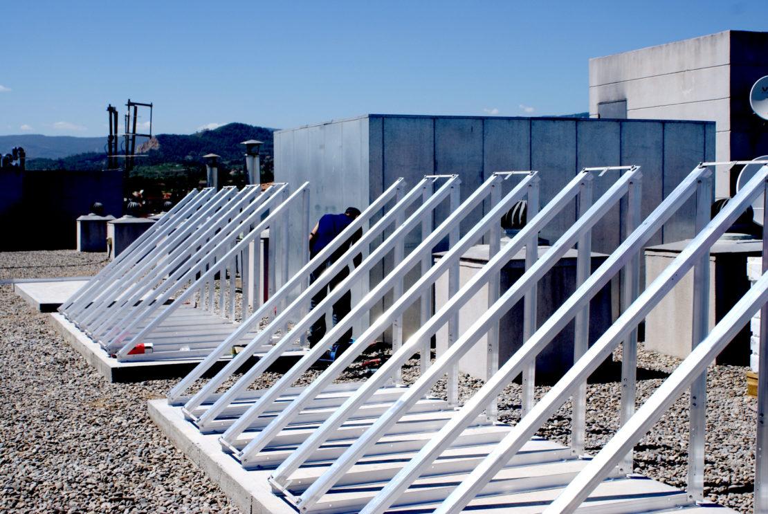 Proyecto Energía Solar Hotel NH
